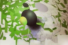 """""""Ümidini Yitirmemiş Doğa"""" 105 x 130 cm, 2013"""