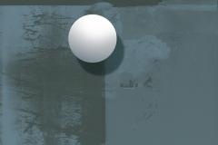 """""""Tek Başına Yörünge Oluşturmak"""" 100 x 130 cm, 2010"""