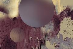 """""""Uydu"""", 80 x 75 cm, 2010"""