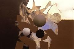 """""""Genetiği Dönüştürülmüş Kahverengi Yasaklar """", 30 x 40 cm, 2013"""