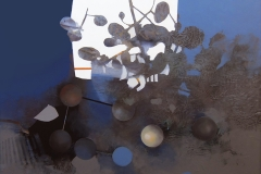 """""""Doğanın Gri Silueti 1"""", 50 x 60 cm, 2012"""