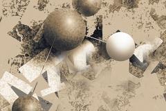 """""""Çekim Gücünün Nötr Hali 1"""", 80 x 80 cm, 2012"""