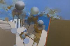 """""""Mavi Çiçeğin Sırrı"""", 40 x 50 cm, 2012"""