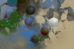 """""""Doğanın Sanal Yörüngesi"""", 40 x 50 cm, 2012"""