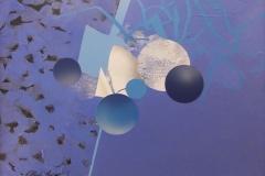 """""""İyonik Bağlar"""", 30 x 40 cm, 2013"""