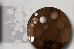 """""""Yörünge"""" , 110 x 100 cm, 2012"""