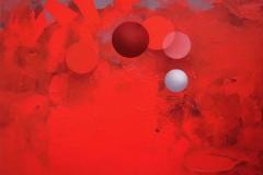 """Güneş Tutulması"", 50 x 60 cm, 2013"