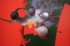 """""""Çekim Gücündeki Ayrışmalar"""", 40 x 50 cm, 2012"""