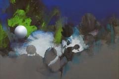 """""""Doğanın Gri Silueti 2"""", 50 x 60 cm, 2012"""