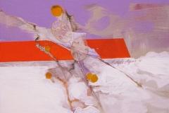 """""""Bahar Dalları"""", 40 x 30 cm, 2011"""