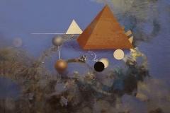 """Mısır Medeniyeti"", 100 x 100 cm, 2012"