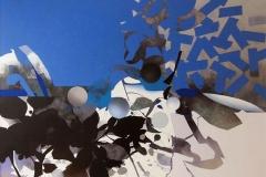 """""""Doğanın Genetik Çırpınışı"""", 105 x 130 cm, 2013"""