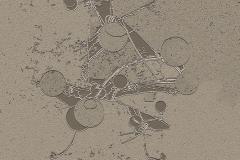 """""""Çekim Gücünün Dengesi"""" 100 x 100 cm, 2013"""
